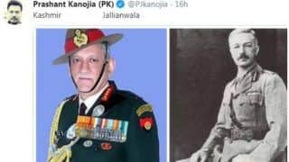 Journalist Crosses Line Again, Compares Indian Army Chief Bipin Rawat With General Dyer