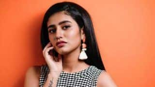 Malayalam Hot Actor Priya Prakash Varrier Looks Stunning in Monochrome Dress And we Can't Stop Gushing Over Her