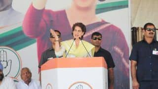 Priyanka Gandhi Hits Out at Government Over Job Losses Due to Economic Slowdown