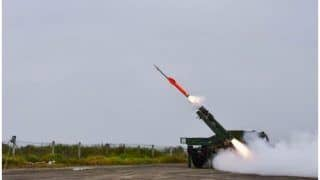 DRDO Test-Fires Indigenous Quick Reaction Surface to Air Missile in Odisha | Watch Video