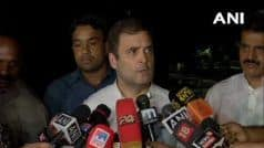 Govt Should Stop Creating Space For Terrorists in J&K: Rahul Gandhi on Farooq Abdullah   s Detention