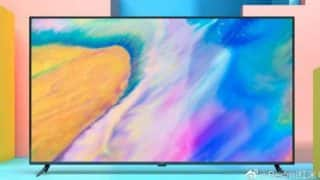 Redmi TV image shared by the company confirms the design