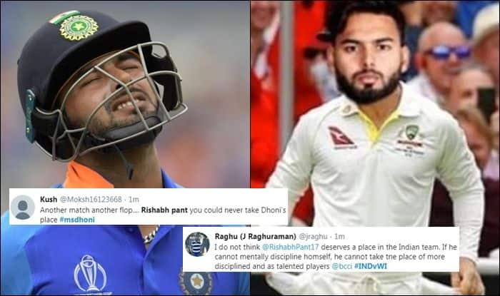 Ind vs WI: Rishabh Pant TROLLED For Playing Unnecessary Shot During