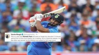Ind vs WI: Rishabh Pant TROLLED For Registering Golden Duck in 3rd ODI, Fans Say he Can Never Replace MS Dhoni | SEE POSTS
