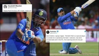 Rishabh Pant Breaks Massive MS Dhoni Record After India Whitewash West Indies 3-0 in T20Is, Netizens Praise Young Wicketkeeper's Partnership With Virat Kohli | SEE POSTS