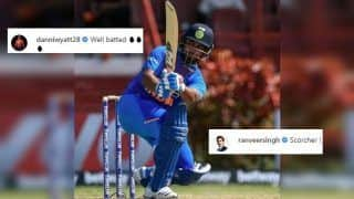 Danielle Wyatt, Ranveer Singh Praise Wicketkeeper Rishabh Pant After India Whitewash West Indies 3-0 in T20I Series | SEE POSTS