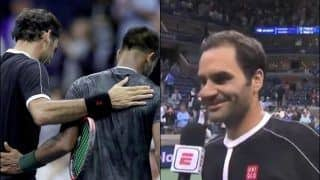 US Open 2019: 'Did You Think it Was Rafael Nadal And Not Sumit Nagal?' Roger Federer's EPIC Reaction Will Win Your Heart | WATCH VIDEO