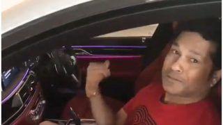 सचिन तेंदुलकर का कार पार्किंग में हुआ 'मिस्टर इंडिया' से सामना, देखिए ये वीडियो
