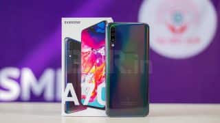Samsung Galaxy A70 update brings dedicated Night Mode and July security patch