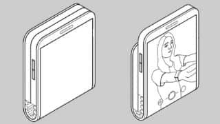 Samsung files a patent for a vertically folding smartphone