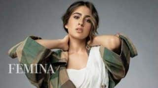 Sara Ali Khan Redefines Hotness as She Adds Western Twist to Saree in Her Latest Magazine's Photoshoot
