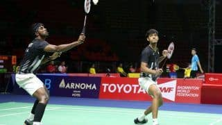 Badminton: Chirag Shetty-Satwiksairaj Rankireddy Pair Pulls Out of World Championship