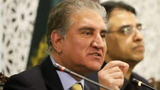 Pakistan Foreign Minister Qureshi Rejects UN Chief's Appeal on Kashmir Issue, Says Third Party Mediation Only Way