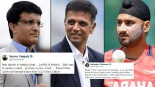 'God Save Indian Cricket': Harabhajan Singh Supports Sourav Ganguly, Slams BCCI For Sending Conflict of Interest Notice to Rahul Dravid | SEE POST