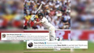 Steve Smith Slams 25th Test Century During Ashes Test Between England-Australia, Twitter Compares Him With Sir Donald Bradman | SEE POSTS