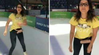 Sunny Leone Takes on Ice Skating Like a Pro, Thanks Fans For 25 Million Instagram Family | WATCH