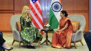 Sushma Swaraj Was a Champion For Women, Says Ivanka Trump