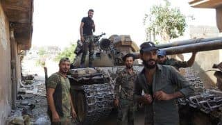 Rebel Groups Forced to Withdraw From Their Key Bastion in Syria