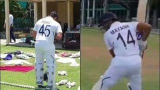 Ind vs WI-A: Rohit Sharma, Team India Walk Out in New Test Numbered Jersey For First Time Ever | WATCH VIDEO