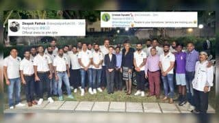 Virat Kohli-Led Team India Members Visit Indian High Commissioner's Residence in Jamaica For Official Dinner Ahead of 2nd Test vs West Indies | SEE PIC