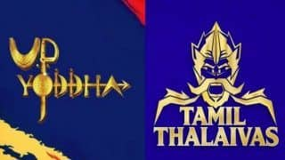 Dream11 Team UP vs TN Pro Kabaddi League 2019 - Kabaddi Prediction Tips For Today's PKL Match 29 UP Yoddha vs Tamil Thalaivas at Patliputra Indoor Stadium, Patna