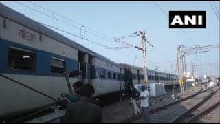 UP: 4 Coaches of a Train Derail at Kanpur Central Railway Station, no Injuries Reported
