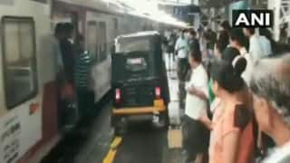 Driver Arrested For Riding Auto-rickshaw on Virar Railway Station Platform to Escort Pregnant Women to Hospital