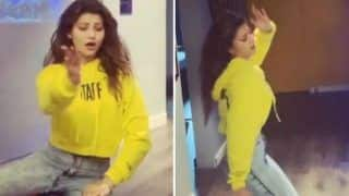 Urvashi Rautela Flaunts Her Hot Dance Moves on Madhuri Dixit's 'Maar Dala' And Fans Can't Keep Calm