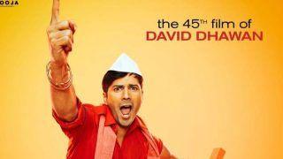 पापा की फिल्म में बेटा वरुण धवन निभाएंगे गोविंदा वाला किरदार, रिलीज हुआ 'कुली नंबर 1' का टीजर पोस्टर