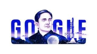 Google Doodle celebrates 100th birthday of Vikram Sarabhai, father of India's space program