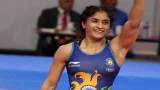 World Wrestling Championships: Vinesh Phogat Wins Bronze After Beating Maria Prevolaraki in Women's 53 Kg Category, Secures Quota in Tokyo 2020 Olympics