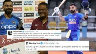 Ind vs WI: Virat Kohli Breaks Ricky Ponting's Record For Most Runs in a Decade With 43rd ODI Century, Twitter Bows to India Captain | SEE POSTS