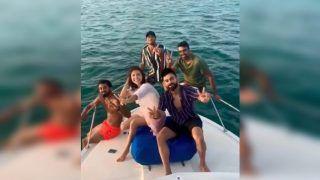 Ind vs WI: Virat Kohli, Anushka Sharma, KL Rahul, Ravichandran Ashwin Enjoy The Caribbean Blues Ahead of 2nd Test | WATCH VIDEO