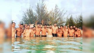Virat Kohli, Jasprit Bumrah And Team India Members Show-Off Their Abs Ahead of 1st Test vs West Indies | SEE PIC