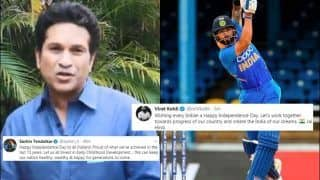 Independence Day 2019: Virat Kohli, Sachin Tendulkar Wish Fans on 73rd I-Day; Both Have Special Message For Fans | WATCH VIDEO