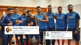 Virat Kohli Shares Squad Picture Ahead of 1st T20I vs West Indies, Fans Ask 'Where is Rohit?' | SEE POSTS