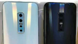 Vivo V17 Pro leaked image shows quad rear camera setup and glass back