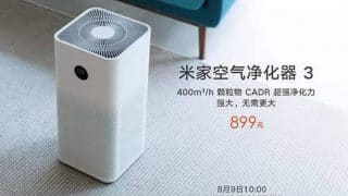 Xiaomi MIJIA Air Purifier 3 launched in China at RMB 899