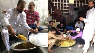 Yusuf Pathan Arranges And Serves Food For Flood-Hit Victims in Vadodara, Twitter Lauds Kind Gesture | WATCH VIDEO