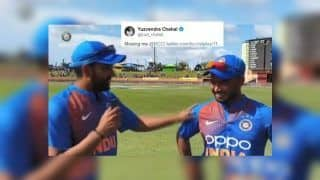 Yuzvendra Chahal's 'Missing Me' Reaction to Rohit Sharma-Rishabh Pant Interview After India Whitewashed West Indies 3-0 is EPIC | SEE POST