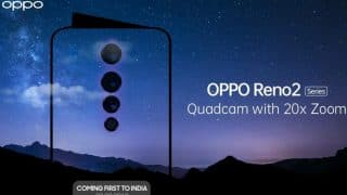 Oppo confirms key specs for Reno2; Qualcomm Snapdragon 730G, 8GB RAM and more