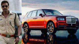 Ajay Devgn Owns Rolls Royce Cullinan Luxury SUV Worth Rs 6.95 Crore