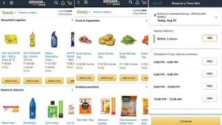 'Amazon Fresh' service launched for groceries; promises deliveries in 2 hours