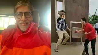 Amitabh Bachchan Shares Latest Viral Video of #MereKhwabonMeinJoAaye Challenge, Twitter Goes LOL