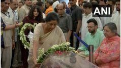 अरुण जेटली का निधन: रविवार को किया जाएगा अंतिम संस्कार, बिहार-हरियाणा में 2 दिन का राजकीय शोक
