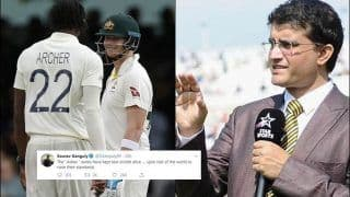 Former India Captain Sourav Ganguly Says Ashes Keeping Test Cricket Alive, Challenges Other Teams to Raise Their Standard in Red-Ball Cricket | SEE TWEET