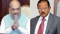 Home Minister Meets NSA Doval Over J&K Situation