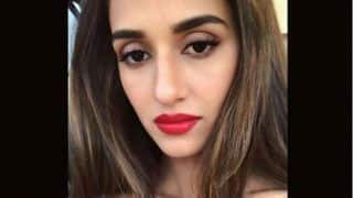 Disha Patani Sets The Internet Ablaze With Hot Pic in Bold Red Lipstick, Netizens Can't Stop Looking at Her Lips