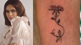 Esha Gupta Gets Inked Again, Dedicates Her Tattoo to Her Mother