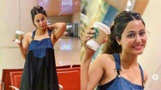 Hina Khan Flaunts Her Flowy Dress And Captures Every Moment, Even in The Airport